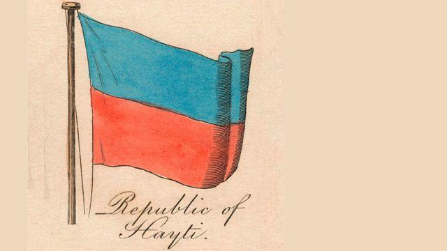 Dibujo de la bandera de 1838
