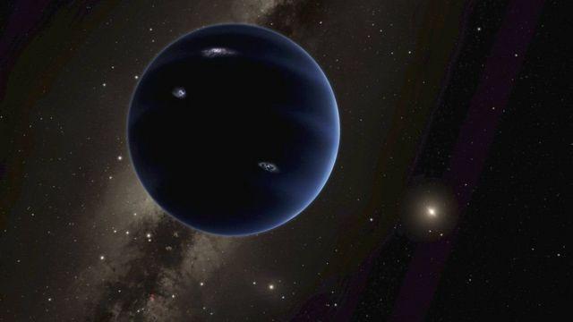 """Recriação do """"Planeta 9"""""""