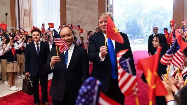 Bang giao Mỹ - Việt
