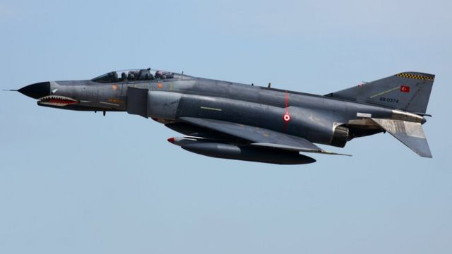 Türk savaş uçağı