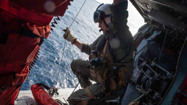 Một hoạt động trên hàng không mẫu hạm Ronald Reagan