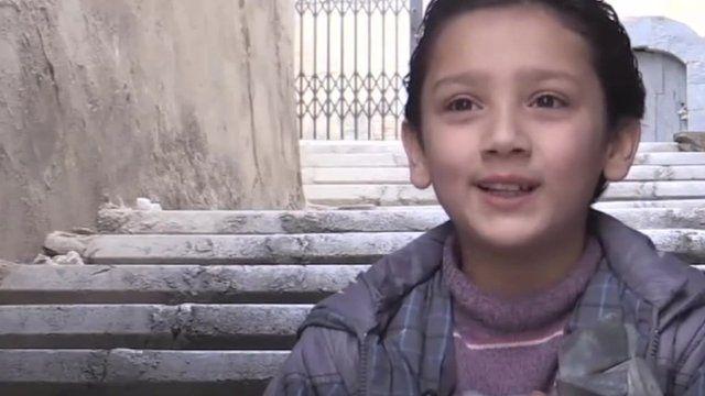 Syrian child Ja'afar