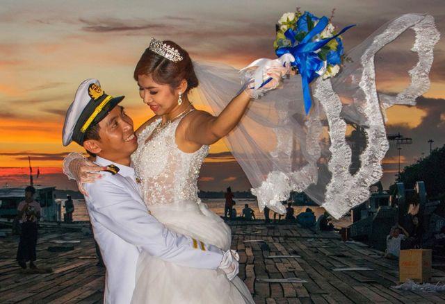 Одружена пара