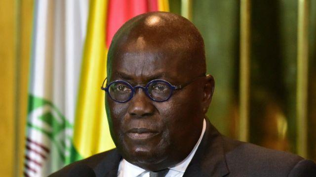President of Ghana Nana Akufo-Addo