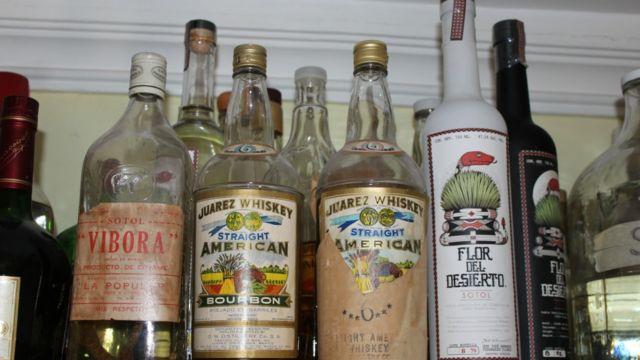 Whisky en Ciudad Juárez.