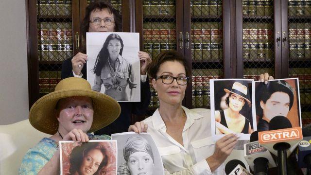 Tres de las mujeres que acusaron a Bill Cosby de abuso