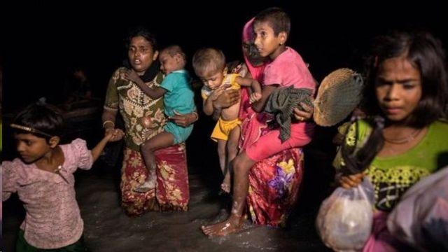 Kuva itariki 25 z'ukwezi kw'umunani, abanyagihugu b'aba Rohingya baguma bahungira muri Bangladesh
