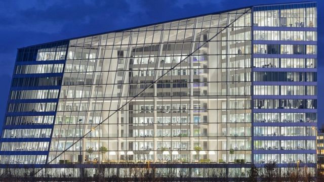 Tomorrow's buildings: Is world's greenest office smart?