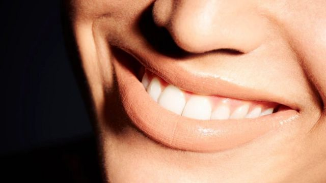 La sonrisa de una mujer