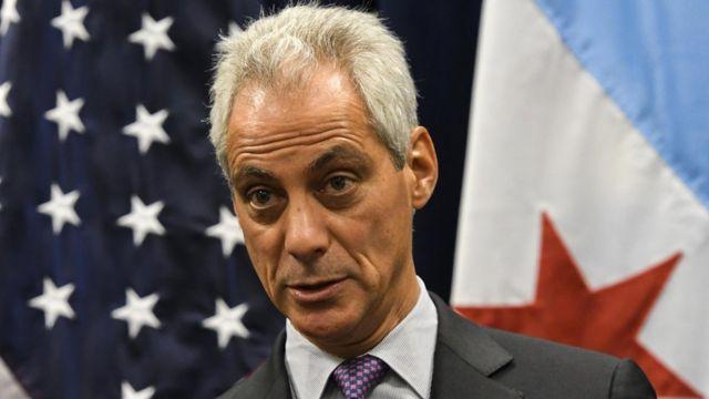 Rahm Emanuel, alcalde de Chicago