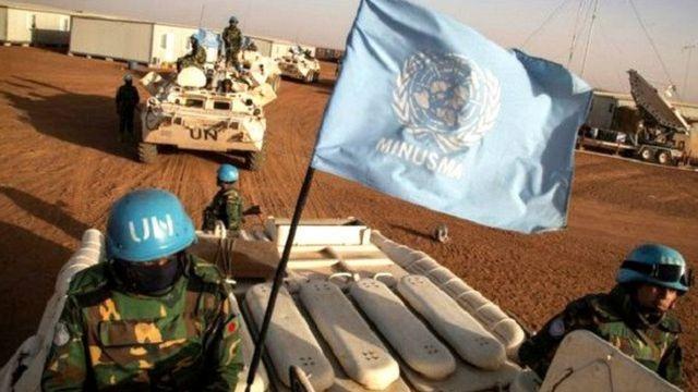Wasu daga cikin dakarun zaman lafiya na Majalisar Dinkin Duniya a Mali