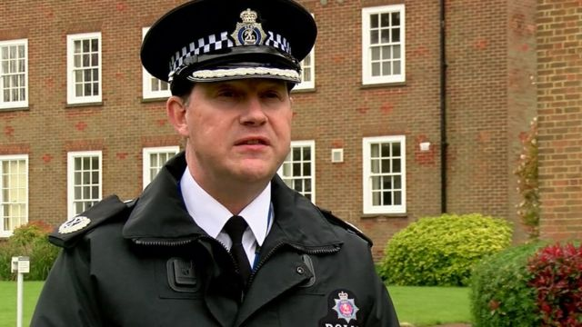 Assistant Chief Constable Neil Jerome of Kent Police