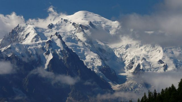 Two Germans killed climbing Mont Blanc in French Alps