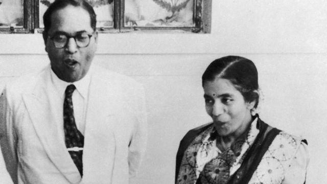 आंबेडकर और उनकी बीवी डॉक्टर शारदा कबीर