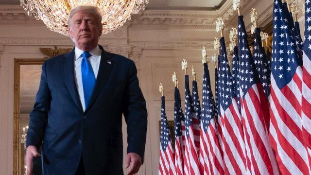 """Joe Biden gana las elecciones en EE.UU.: """"Trump intenta desacreditar la  democracia para seguir en el poder"""" - BBC News Mundo"""