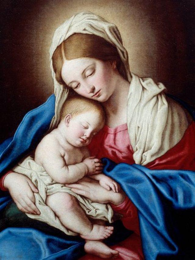 ईसा मसीह, मदर मरियम