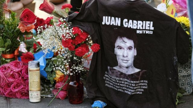 Homenaje a Juan Gabriel en Hollywood