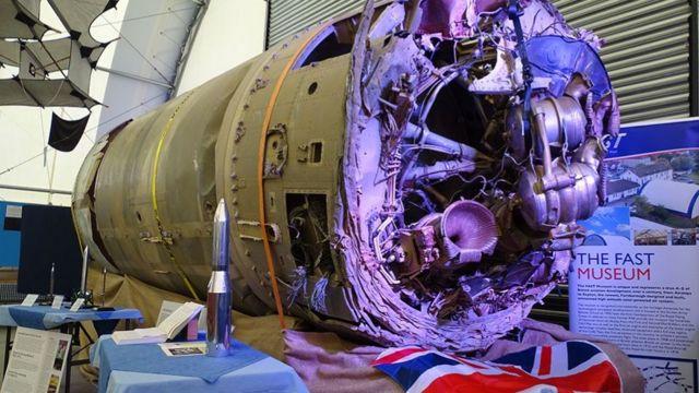 İskoçya şirketi Skyrora Prospero'yu taşıyan Black Arrow roketinin Dünya'ya düşen parçasını Avustralya'dan bulup getirdi