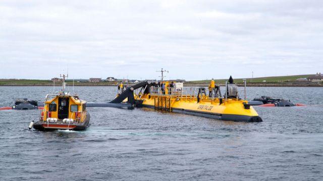 Приливная электростанция у Оркнейских островов