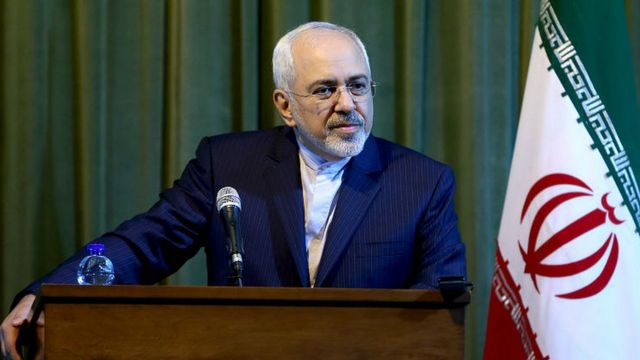 Iranian Foreign Minister Mohammad Javad Zarif (file image)