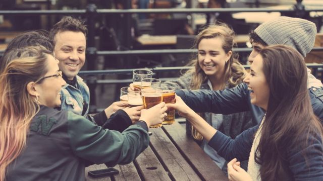 пьющие друзья