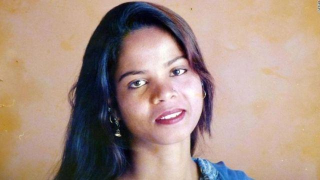 Asia Bibi, condenada por blasfêmia no Paquistão