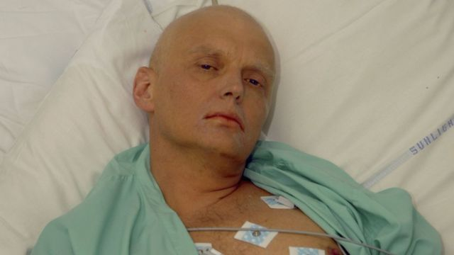 Bivši agent Aleksandar Litvinjenko