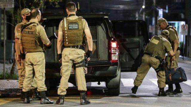 أفراد بالشرطة العسكرية