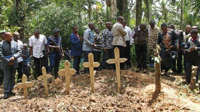 похороны жертв