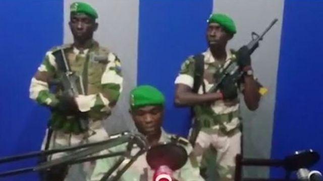 Мятежники, заявившие о захвате власти в Габоне