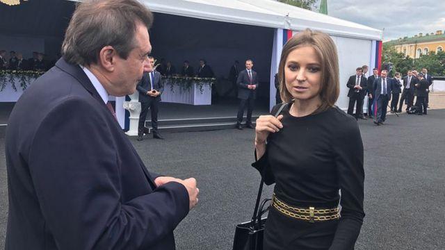 Режиссер Учитель и депутат Поклонская не смогли найти общий язык, беседуя 12 июня в Кремле