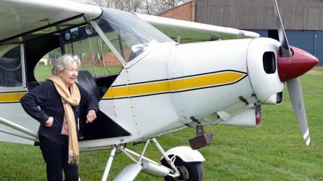 Why my 93-year-old gran is learning to fly