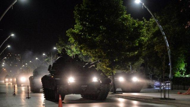 محاولة الانقلاب الفاشلة في تركيا