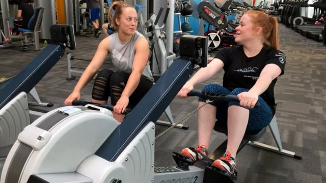 New and supportive gym partner 'boosts workouts'