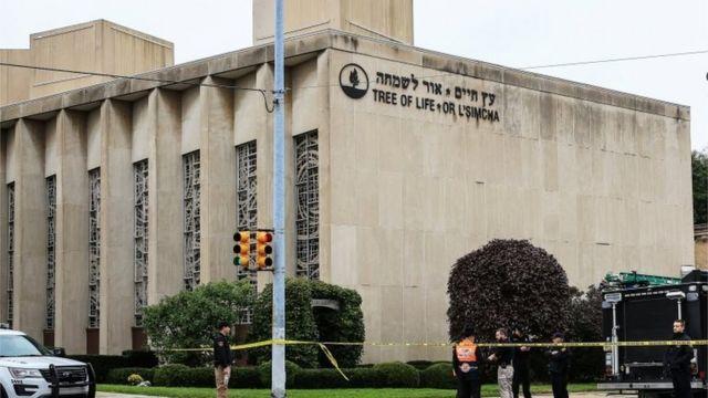 این کنیسه در یکی از پرجمعیتترین محلههای یهودینشین در ایالت پنسیلوانیا واقع است