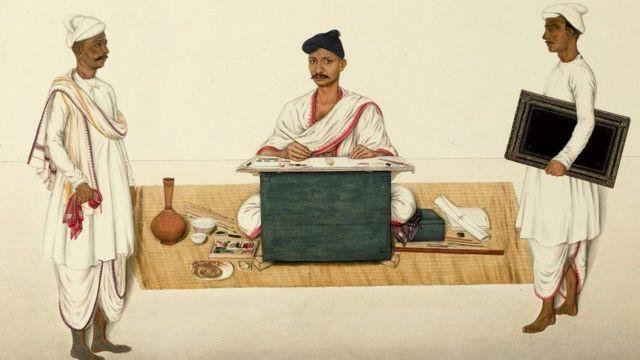 મોગલકાળના ચિજ્ઞકારનું પોટ્રેટ, વેલ્લોરના યેલ્લપા, 1832-1835