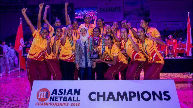 Asian Netball Champions 2018