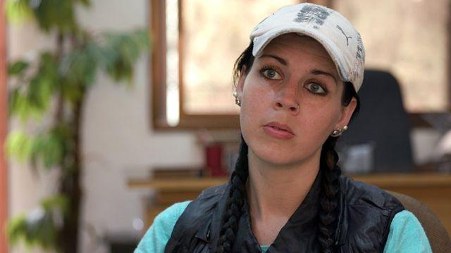 سامانثا التقى بها برنامج بانوراما وهي معتقلة لدى الأكراد.