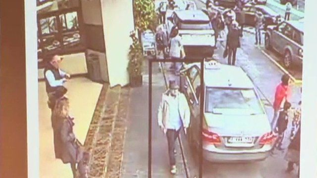 CCTV footage of third suspect in Brussels airport attacks
