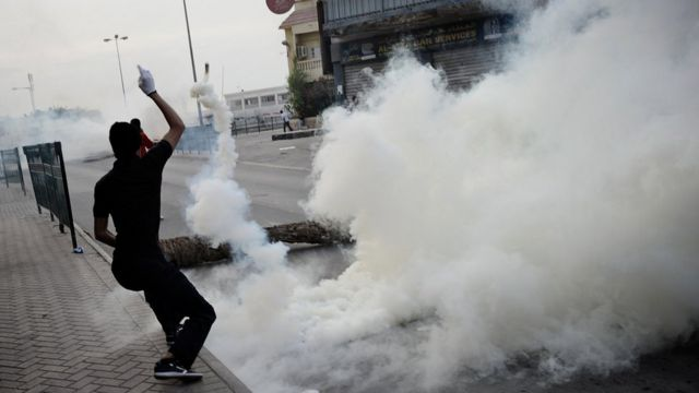 احتجاجات البحرينيين
