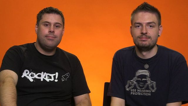 Steve y Thom