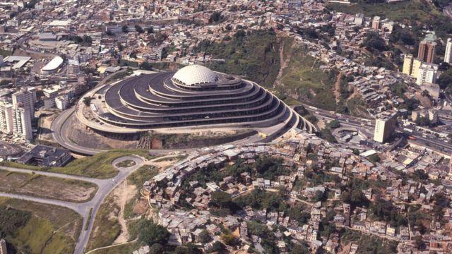 Vista aérea del Helicoide