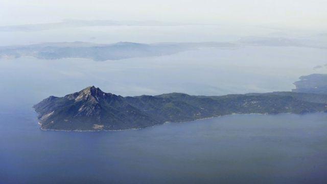 Monte Athos, na Grécia