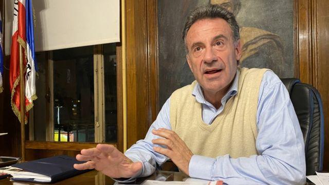 Ministro da Saúde do Uruguai, Daniel Salinas