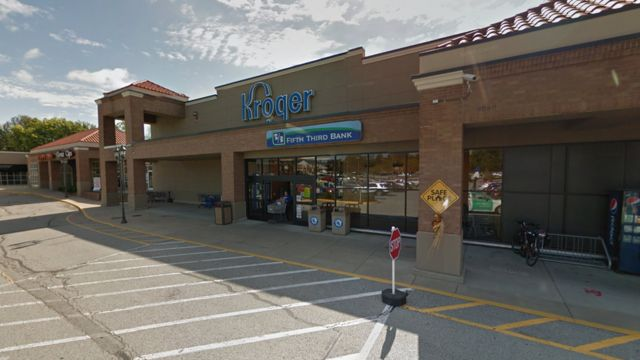 Grab showing the Kroger strore where shooting happened