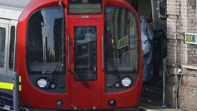 Vụ nổ xảy ra vào lúc 08.20 sáng (giờ London) ở ga Parsons Green