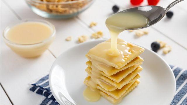 Печение со сгущеным молоком