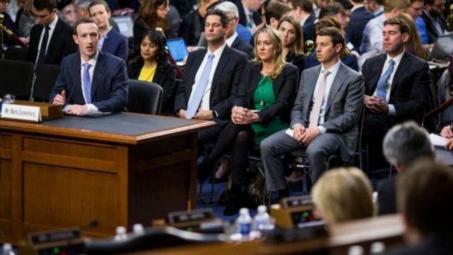 Mark Zakerberg svedoči pred kongresom