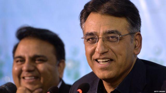 पाकिस्तानी सूचना एवं प्रसारण मंत्री फ़व्वाद चौधरी