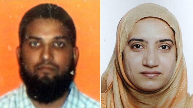 ファルーク容疑者と妻のマリク容疑者